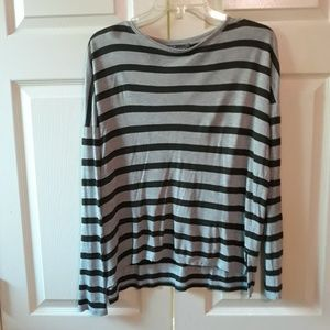 Vince | Striped Pullover Top XS